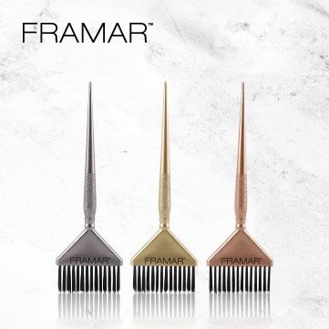 Framar Big Daddy Metallics 3pc Brush Set