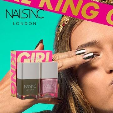 Nails Inc Girl King