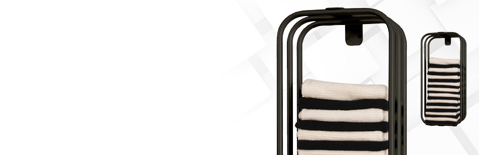 Salon Towel Racks & Storage