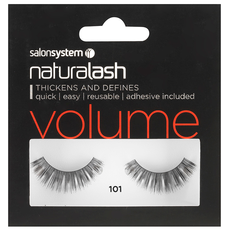 Salon System Naturalash Strip Eyelashes 101 Black Salons Direct