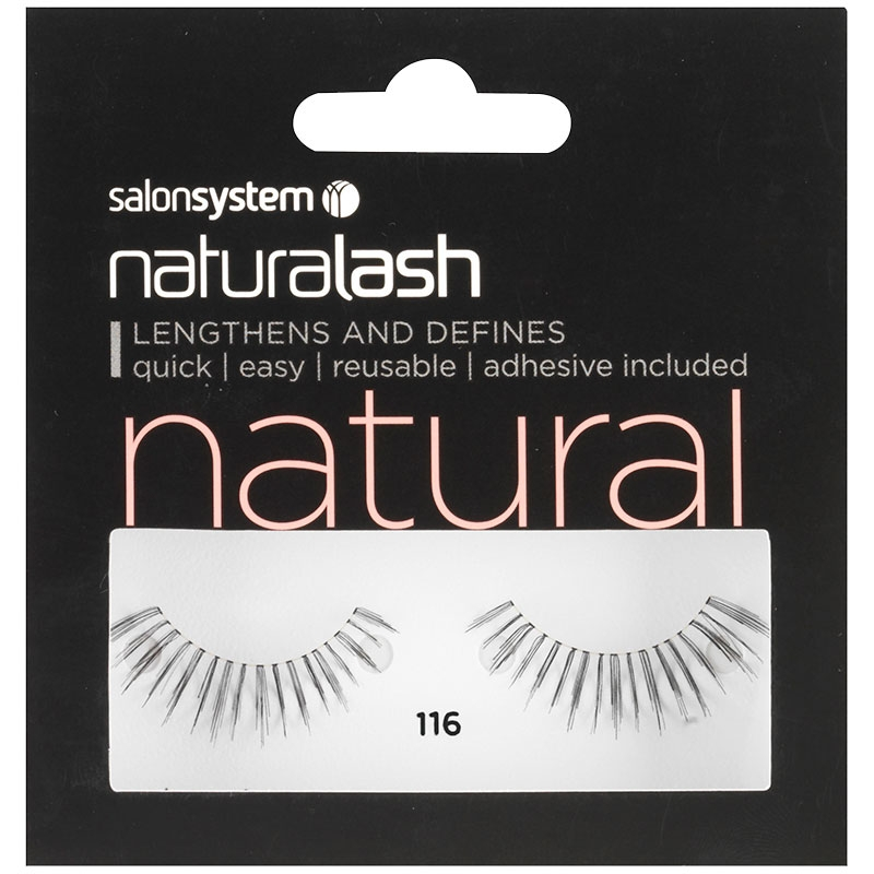897993c5b66 Salon System Naturalash Strip Eyelashes 116 Black   Salons Direct