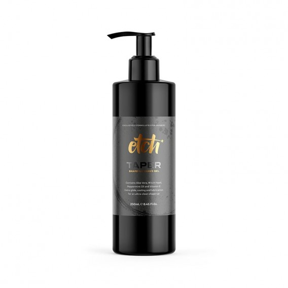 etch TAPER Shapeup Shave Gel 250ml