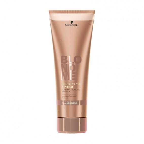 Schwarzkopf BLONDME Detoxifying System Purifying Bonding Shampoo 1000ml