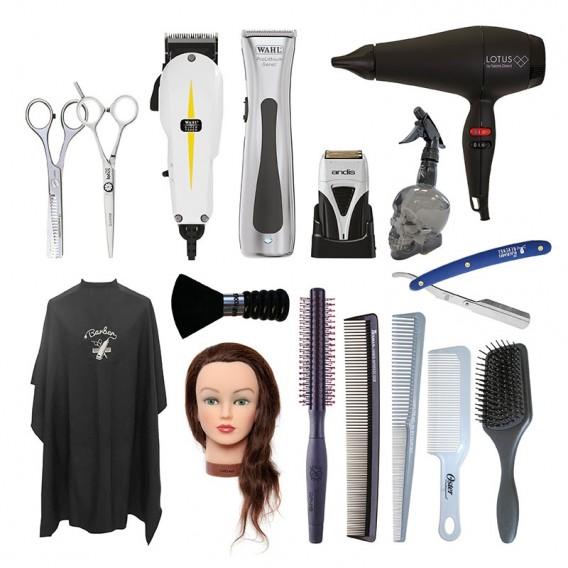 Total Barber Starter Kit Right Handed