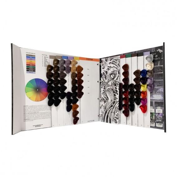 Pulp Riot FACTION8 Colour Book