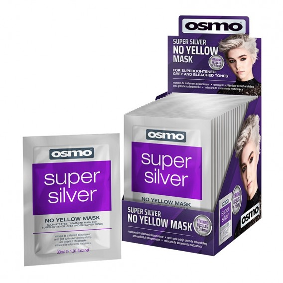 OSMO Super Silver No Yellow Mask 30ml Pack of 24