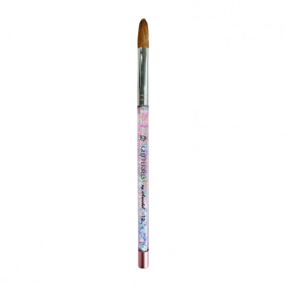 Glitterbels Pinched Pastel Glitter Acrylic Brush