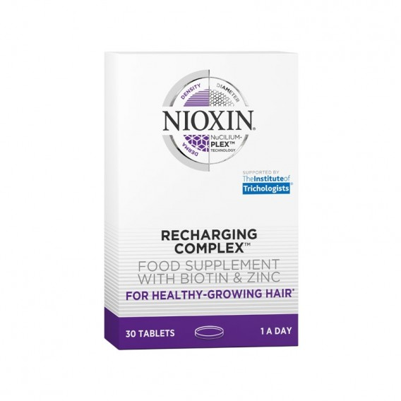Nioxin Recharging Complex Supplements 30 Tablets