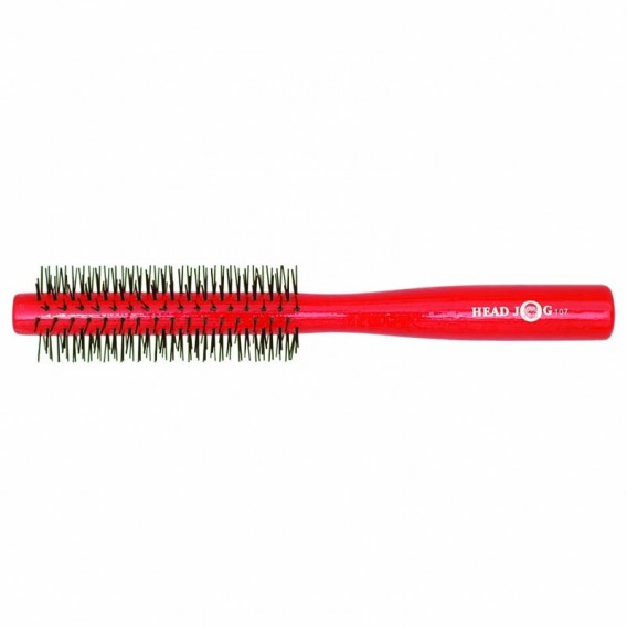 Head Jog Red Lacquer Radial Brush