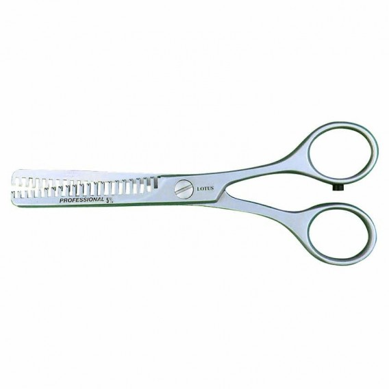 Lotus Twin Blade Thinning Scissor 5.5in 21 Teeth