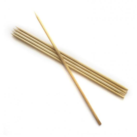 Lotus Orange Wood Sticks (Pack of 10)