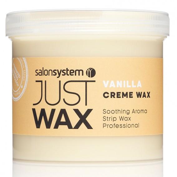 Just Wax Vanilla Creme Wax 450g