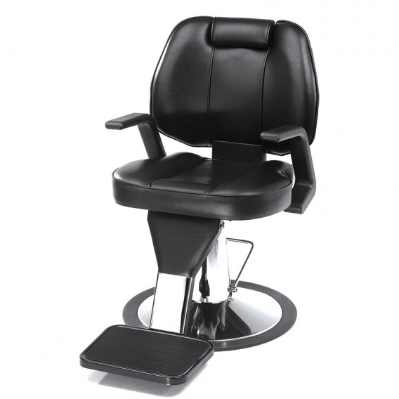 Rem Statesman Barber Chair Black Salons Direct