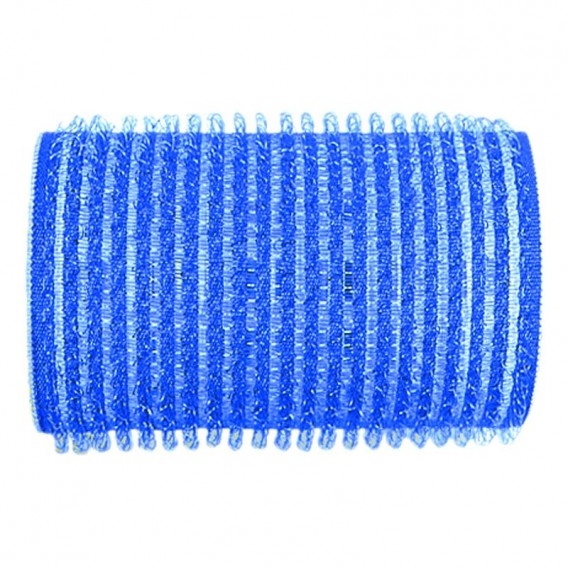 Sibel Velcro Rollers Dark Blue 40mm x 6