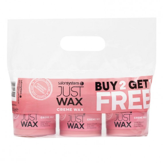 Salon System Just Wax Creme Wax Special Offer Pack
