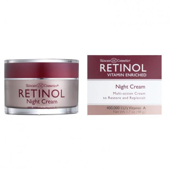 Retinol Vitamin A Night Cream (White Top) 50g