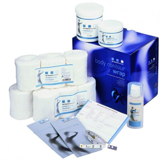 Strictly Professional Body Contour Wrap Total Treatment Kit