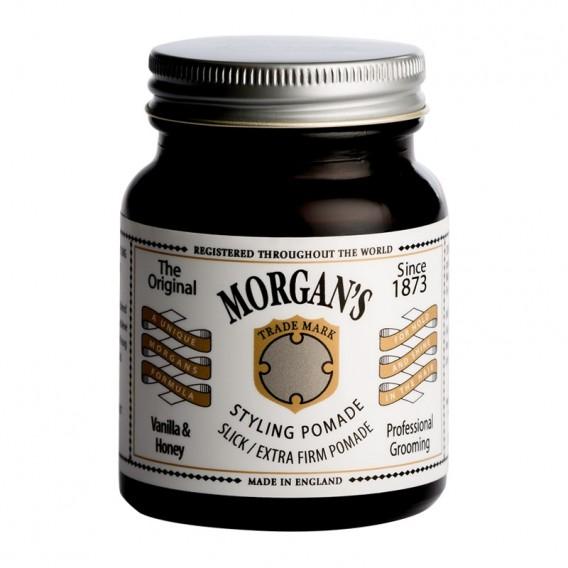 Morgans Vanilla & Honey Pomade Extra Firm Hold 100g (white label)