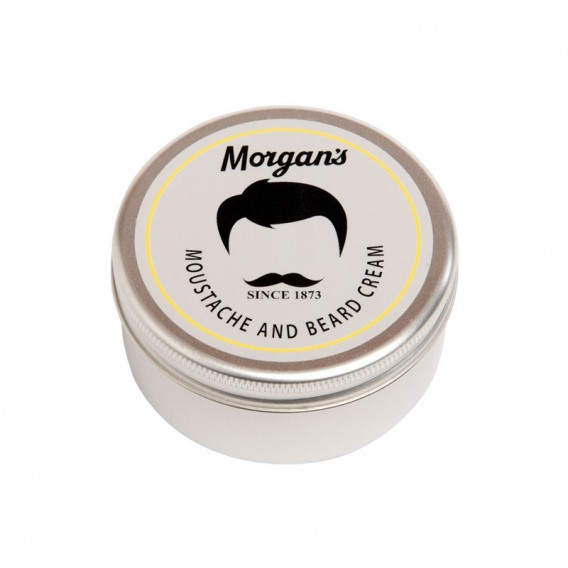 Morgans Moustache & Beard Cream 75ml Tin