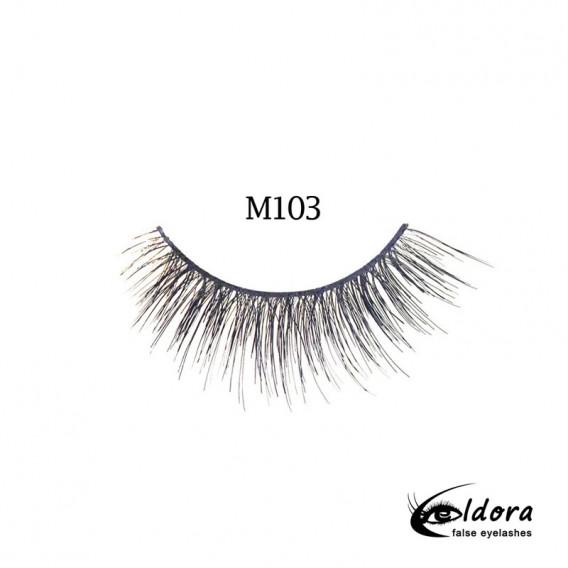 Eldora Multi-Layered Strip Lashes M103