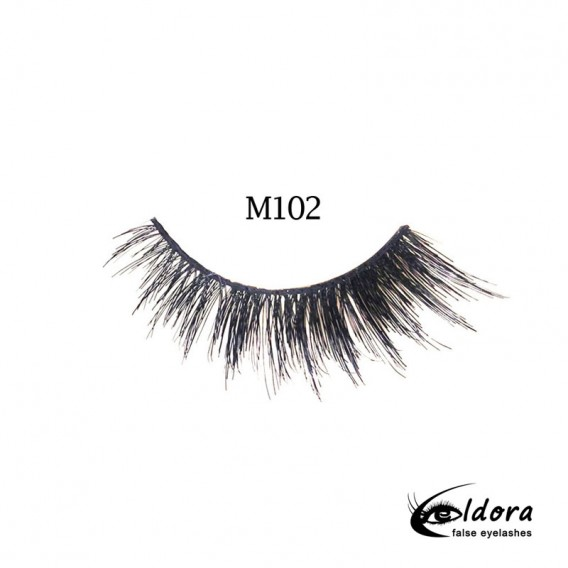 Eldora Multi-Layered Strip Lashes M102