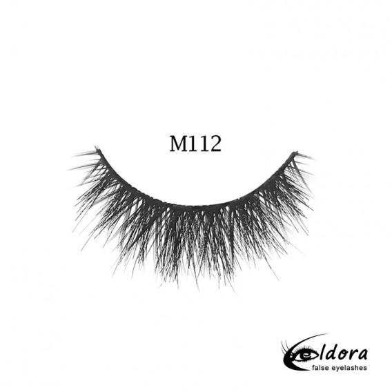 Eldora Multi-Layered Strip Lashes M112