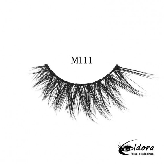 Eldora Multi-Layered Strip Lashes M111