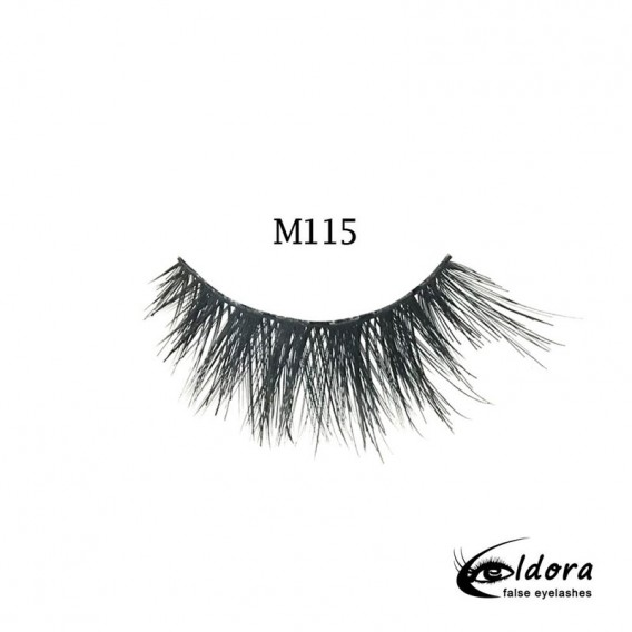 Eldora Multi-Layered Strip Lashes M115