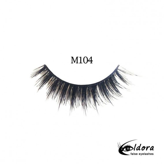 Eldora Multi-Layered Strip Lashes M104