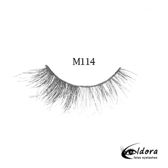Eldora Multi-Layered Strip Lashes M114
