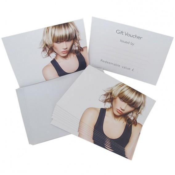 Agenda Gift Voucher Hair Pack 10