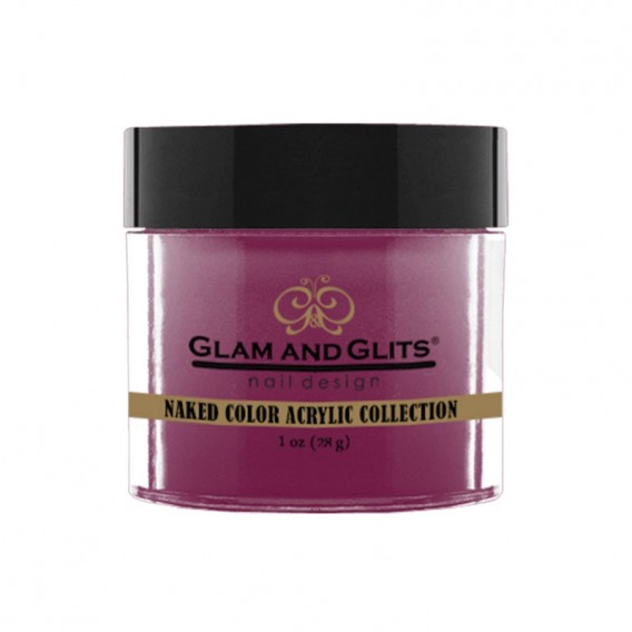 Glam and Glits Naked Acrylic Collection Smoldering Plum 28g