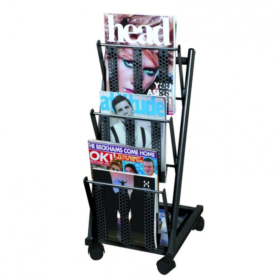 Mobile Single Mobrakk Magazine Rack