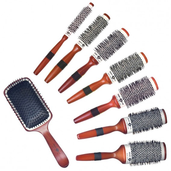 Head Jog Ceramic Mixed Brush Set (x8)