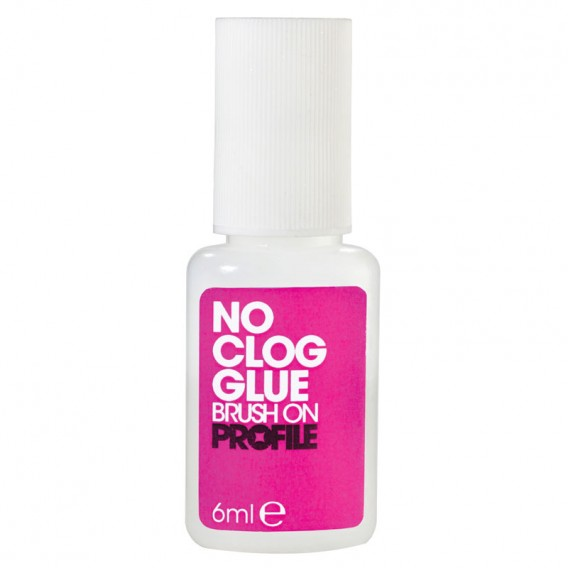 Profile No Clog Brush-On Nail Glue 6ml