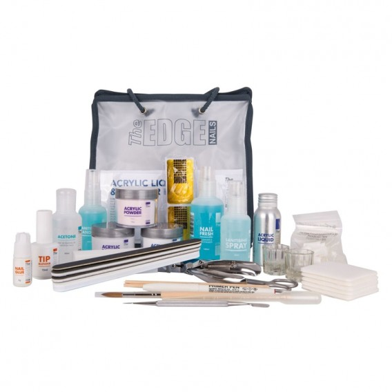 The Edge Acrylic Liquid and Powder Training Kit