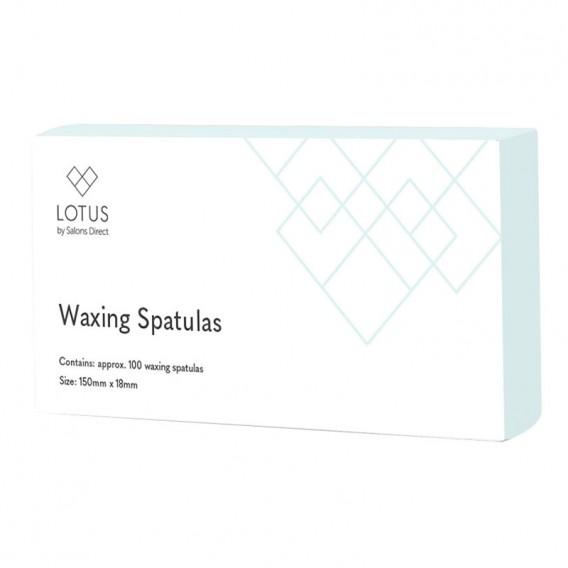 Lotus Wax Spatulas x 100