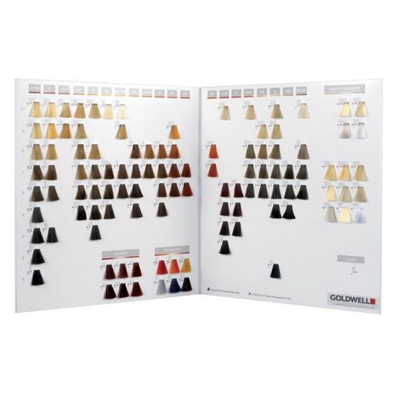 Goldwell Topchic & Colorance Highlift Shade Chart