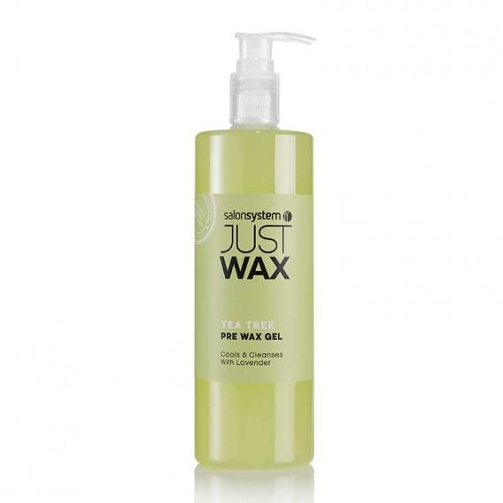 Just Wax Tea Tree Pre Wax Cleansing Gel 500ml