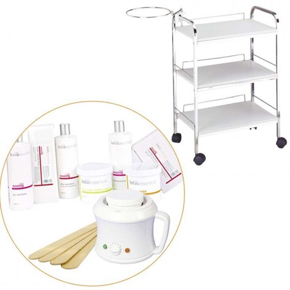 Lotus Essentials Wax Kit & Trolley Offer