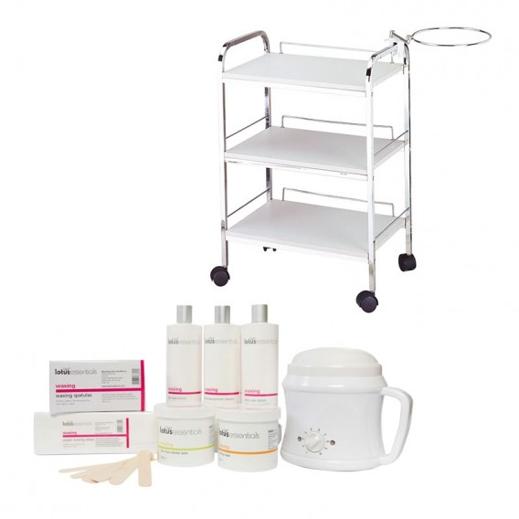 Lotus Essentials Wax Kit & Trolley Offer