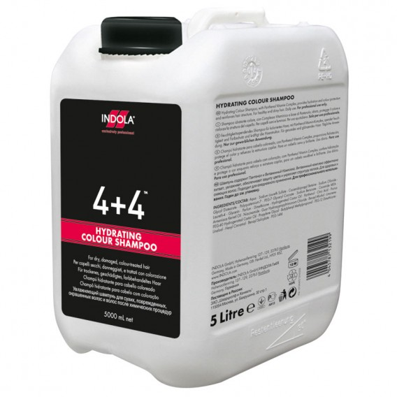 Indola 4+4 Hydrating Colour Shampoo 5 Litre