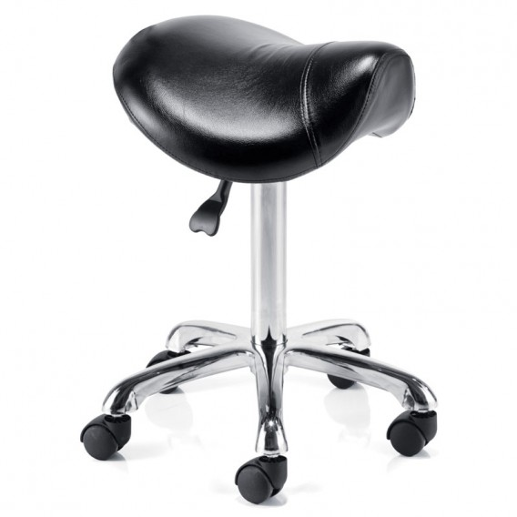REM Saddle Stool Without Back Black