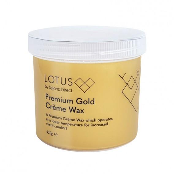 Lotus Premium Creme Gold Wax 425g