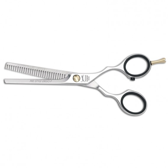 Jaguar Pre Style Ergo 5.5in 28 Teeth Polished Thinner Scissor