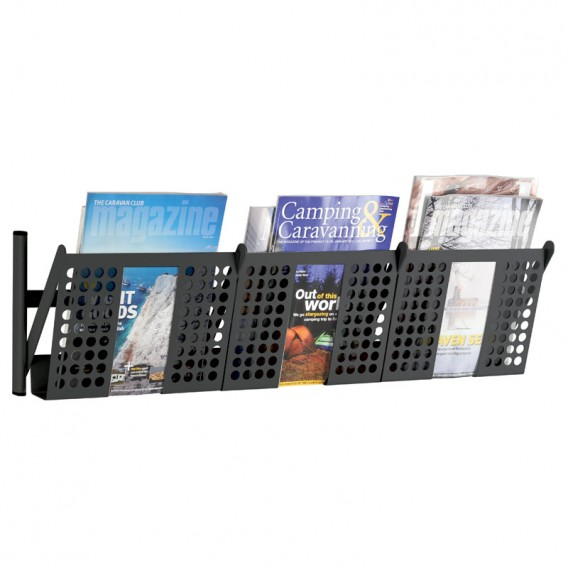 LandRakk Magazine Rack Wall Mounted