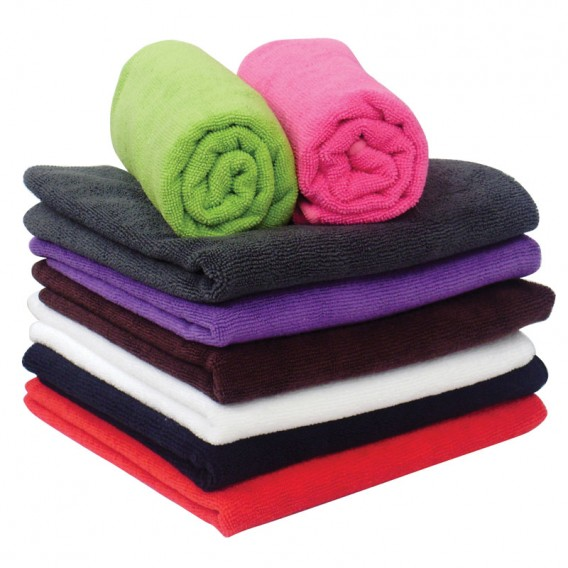 Microfibre Hair Towel x12