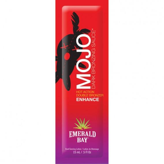 Emerald Bay Mojo Dark Bronzing Sauce Sachet 15ml Tanning Accelerator