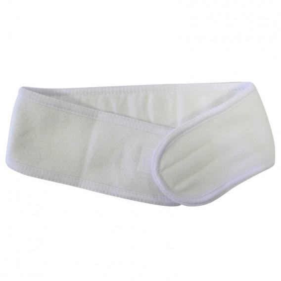 Luxury Cotton Headband White