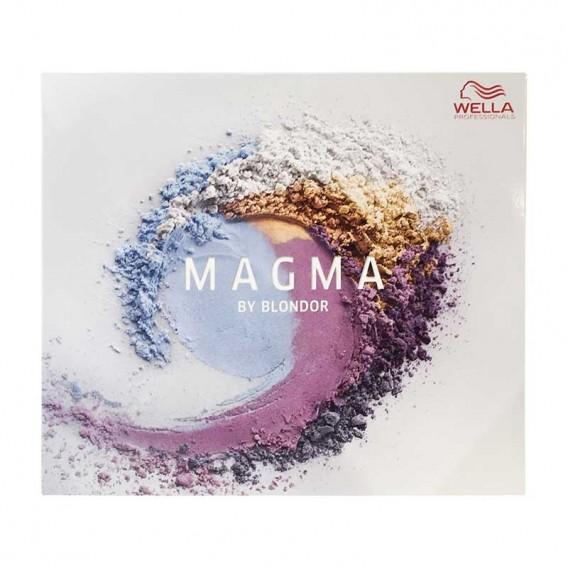 Wella MAGMA by Blondor Shade Guide